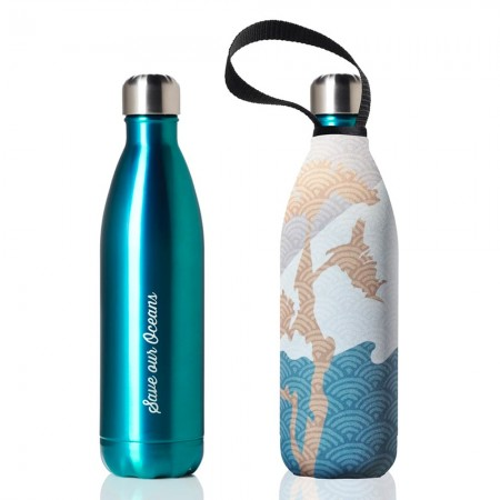 BBBYO Stainless Steel Water Bottle with Cover 750ml - Mintee