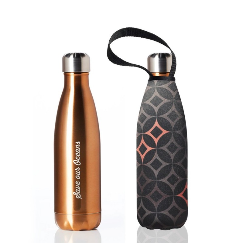 BBBYO Stainless Steel Water Bottle with Cover 500ml - Attica