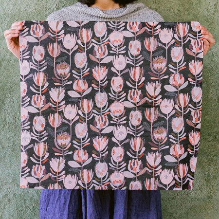 Queen B Beeswax Wrap Baby Uber (Single) - Pink Natives