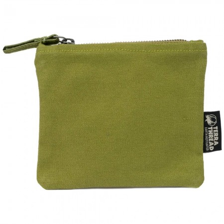 Terra Thread Ziemia Pouch - Olive Green