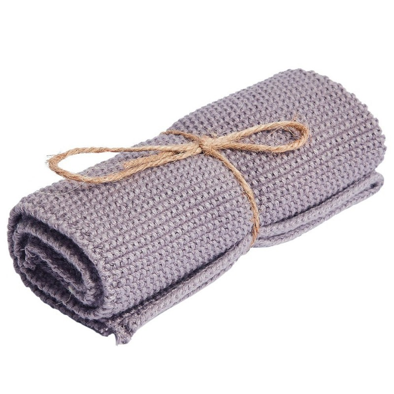 Brightwood Organic Cotton Face Washer All Purpose Cloth - Lavender