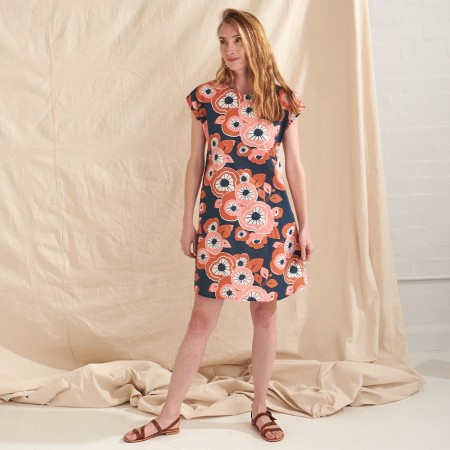 Nya Hemp & Organic Cotton A-Line Dress - Summertime
