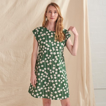 Nya Hemp & Organic Cotton A-Line Dress - Billy Button