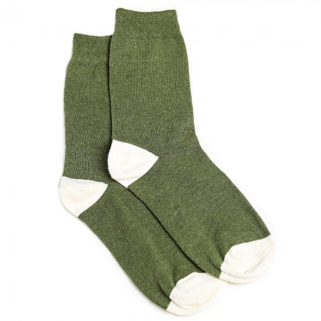 Hemp Clothing Australia Daily Socks - Olive