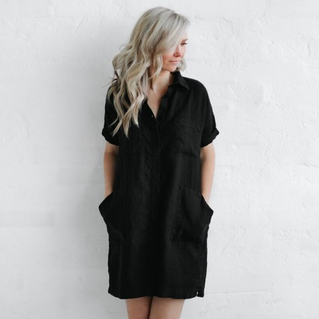 Seaside Tones Tunic - Black