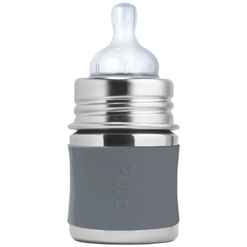 Pura Kiki 150ml Infant Bottle Slate