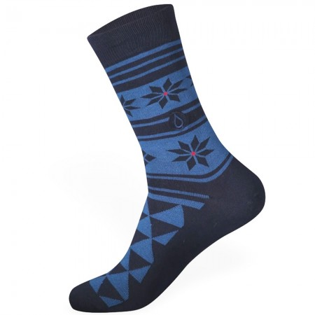 Conscious Step Socks That Give Water - Holidays Dark Blue
