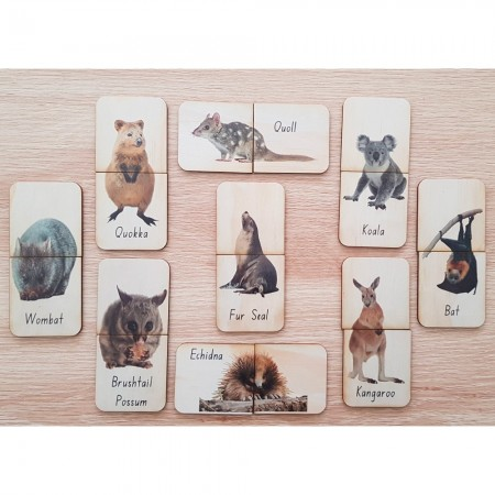 5 Little Bears Matching Puzzle 18pce - Furry Animals