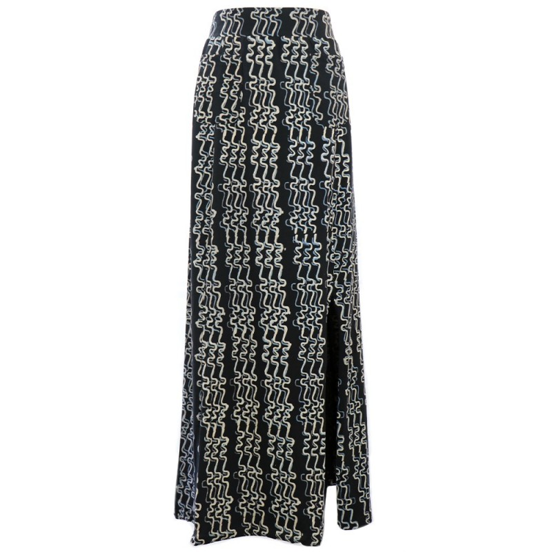 Passion Lilie River By Night Maxi Skirt