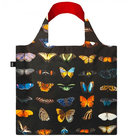 Loqi Reusable Shopping Bag National Geographic Edition - Photo Ark Butterflies & Moths