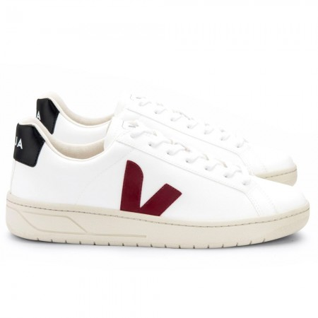 VEJA URCA CWL Sneakers - White Marsala Black LIMITED EDITION