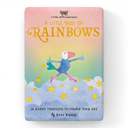 Kate Knapp Little Affirmations Box - A Little Box of Rainbows