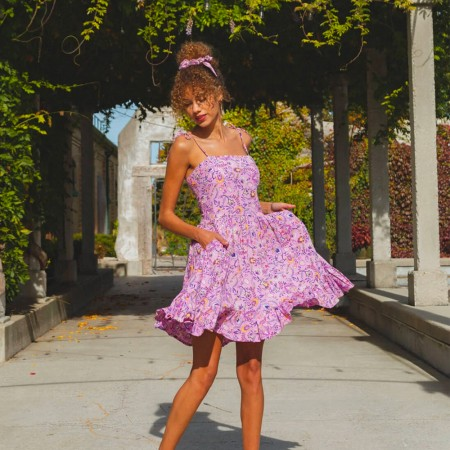 Tamga Designs Suzi Mini Dress - Bella