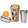Ecococoon stainless steel cup set - New ultra chic