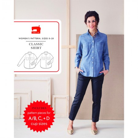 Liesl + Co Sewing Pattern - Classic Shirt