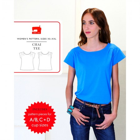 Liesl + Co Sewing Pattern - Chai Tee