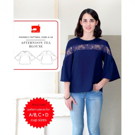 Liesl + Co Sewing Pattern - Afternoon Tea Blouse