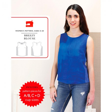 Liesl + Co Sewing Pattern - Breezy Blouse