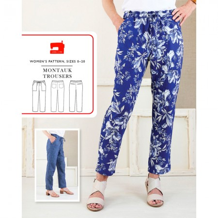 Liesl + Co Sewing Pattern - Montauk Trousers