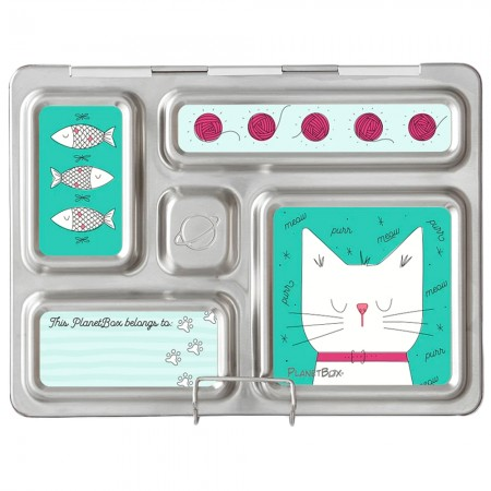 PlanetBox Rover Kit CATS (Box, Containers, Magnets)