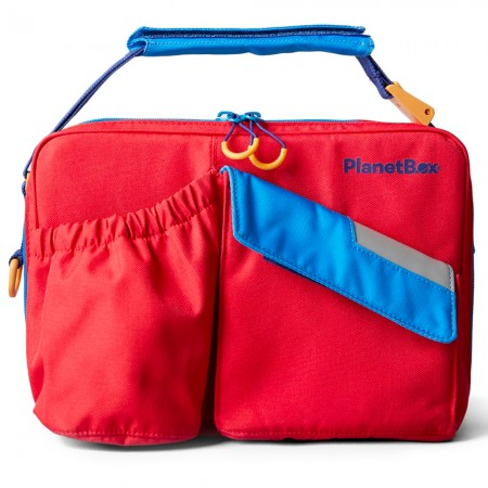 Planetbox Rover Carry Bag - Tomato Twist