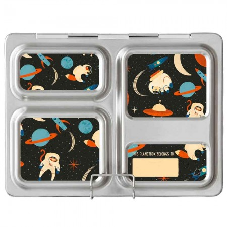Planetbox Launch Kit SPACE ANIMALS (Box, Dipper, Magnets)