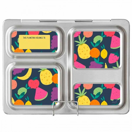 Planetbox Launch Kit TUTTI FRUTTI (Box, Dipper, Magnets)