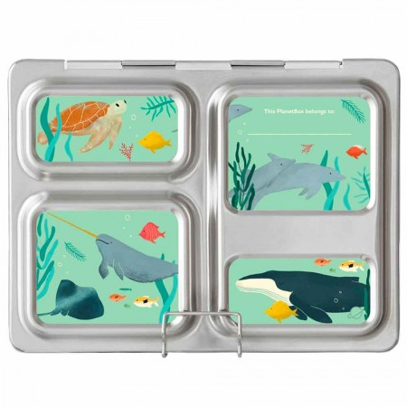 Planetbox Launch Kit SEA LIFE NEW (Box, Dipper, Magnets)