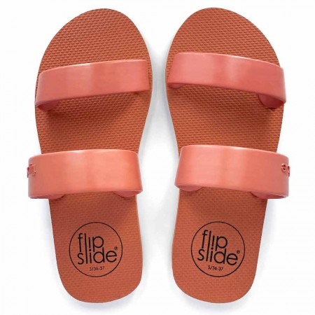 Flipslide Natural Rubber Slides - Dusty Rose
