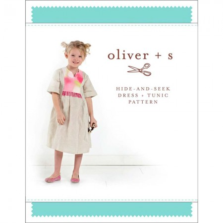 Oliver + S Sewing Pattern - Hide and Seek Dress & Tunic