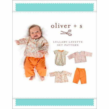 Oliver + S Sewing Pattern - Lullaby Layette