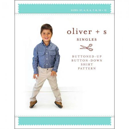 Oliver + S Sewing Pattern - Buttoned-Up Button-Down Shirt