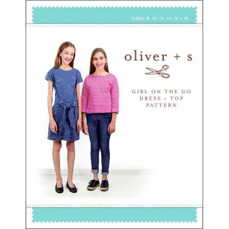 Oliver + S Sewing Pattern - Girl On The Go Dress & Top