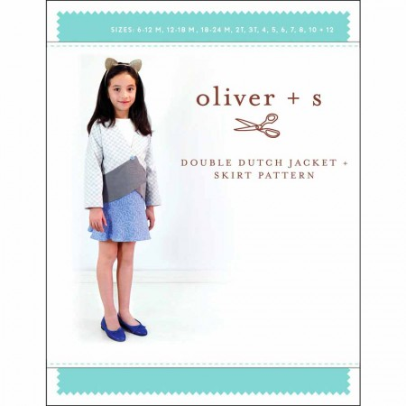 Oliver + S Sewing Pattern - Double Dutch Jacket & Skirt