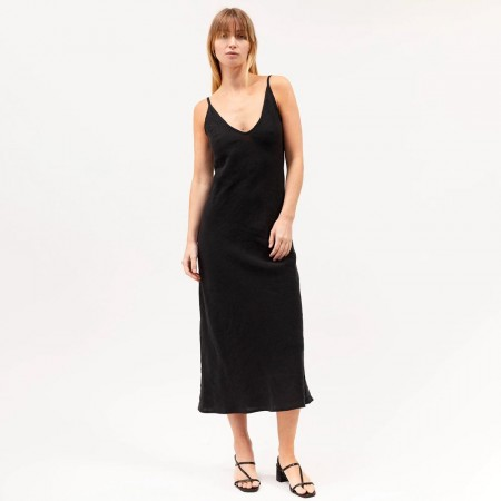 Dominique Healy Classics Midi Dress - Black