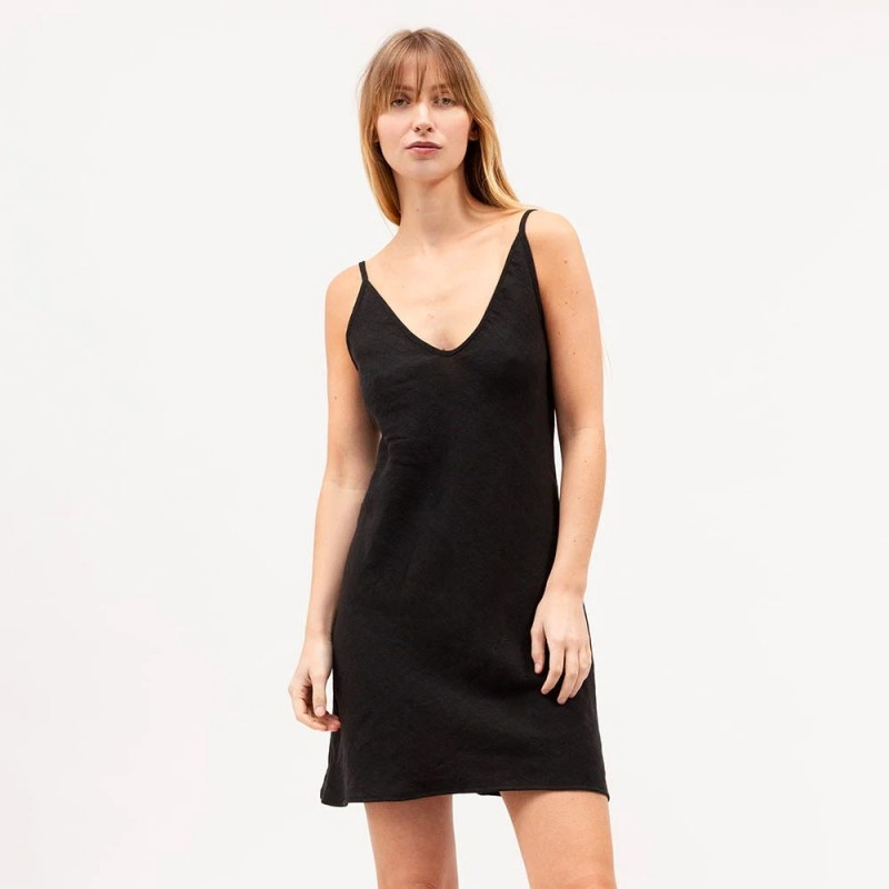 Dominique Healy Classics Mini Dress - Black