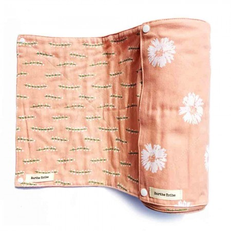 Earths Tribe Unpaper Towels Roll of 20 - Pink