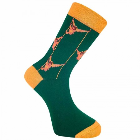 Komodo Organic Cotton SOS Socks - Emerald