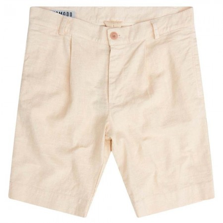 Komodo Bobby Pleat Short - Warm Sand