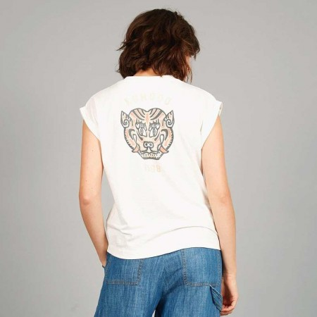Komodo Mantra Tiger Tee - Off White