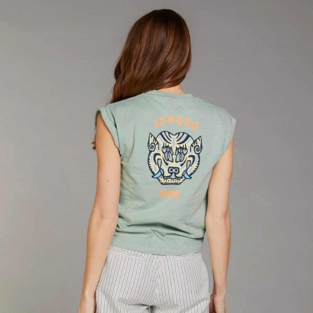 Komodo Mantra Tiger Tee - Mineral Green - LAST CHANCE SIZE 12