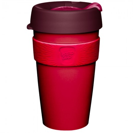 KeepCup Large Plastic Coffee Cup 16oz (454ml) - Kangaroo Paw