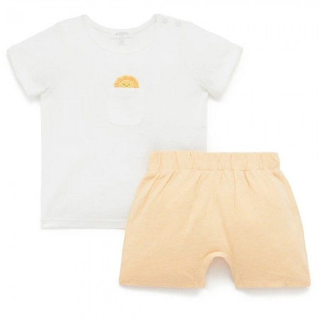 Purebaby Sun Tee and Short Set