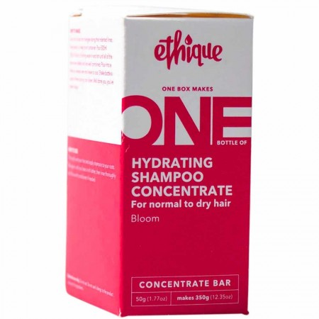 ETHIQUE Hydrating Shampoo Concentrate For Normal To Dry Hair 50g - Bloom