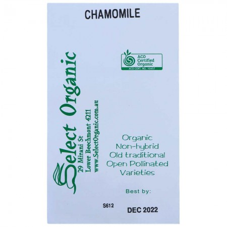 Eden Seeds Select Organic - Chamomile