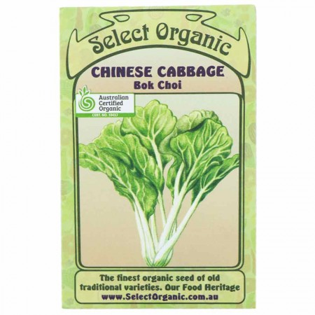 Eden Seeds Select Organic - Bok Choi Chinese Cabbage