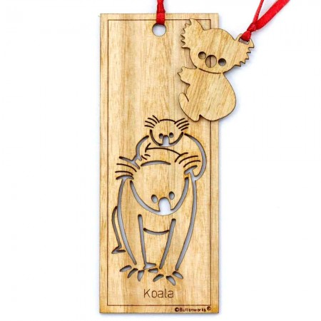 Buttonworks Bookmark - Koala