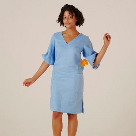 Form By T Elyse Dress - Cornflower