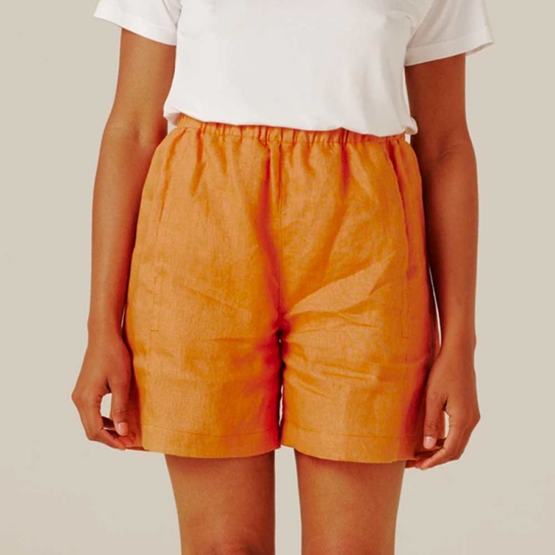 Form By T Erica Shorts - Tangerine