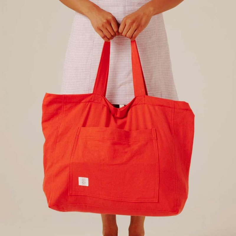 Form By T Weekend Bag - Cherry